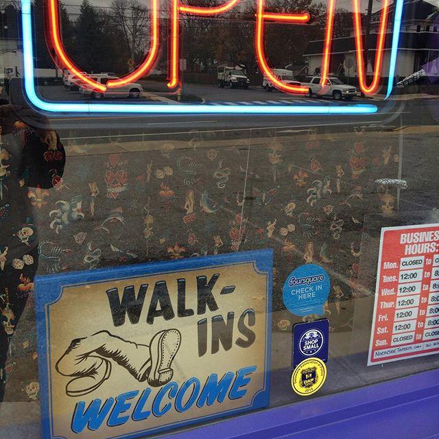 Walk-Ins Welcome Til 7:30 today! #northsidetattoosdotcom #northsidetattoos #northsidetattoo #mattstankis #little_dave #delawaretattoo #wilmingtondelaware #delaware #walkinswelcome