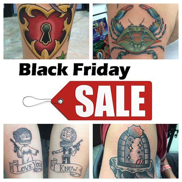Black Friday Special 11/27/15 12-8pm ONLY - For every $100 gift certificate purchased receive an additional $50 gift certificate FREE! No quantity limits, $100 increments only #northsidetattoosdotcom #northsidetattoos #northsidetattoo #wilmingtondelaware #delawaretattoo #delaware