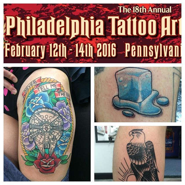 I've still have some slots open for the philly convention. Who wants to get something cool tattooed at the convention? #phillytattooconvention #northsidetattoosdotcom #northsidetattoos